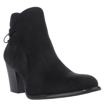 Dirty Laundry by Chinese Laundry Wing It Lace Up Ankle Boots, Black, 10 US / 41 EU