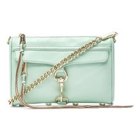 Rebecca Minkoff Mini MAC in Mint