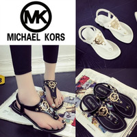 MICHAEL KOR SUMMER SANDALS SHOE MK SLIPPERS BEACH SHOES