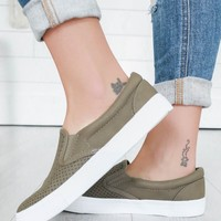 ERIN SNEAKERS - OLIVE