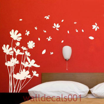Flower Wall DecalsWall stickers Decorswall by walldecals001