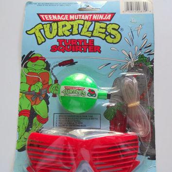 Vintage Teenage Mutant Ninja Turtles Turtle Squirter 1988