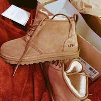 UGG Fashion Fur Wool Tube in Boots Shoes