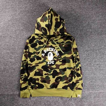 Men's Fashion Winter Camouflage Hats Couple Pullover Hoodies [140549160972]