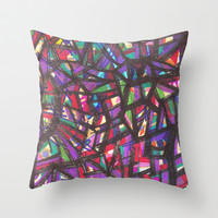 Back to Jazz Throw Pillow by k_c_s