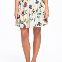 Floral Circle Skirt for Women | Old Navy