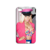 Nicki Minaj Phone Case Cute iPod Case Pink iPhone Case Hot iPhone Cover iPhone 4 iPhone 5 iPhone 4s iPhone 5s Pretty iPod 4 Case iPod 5 Case