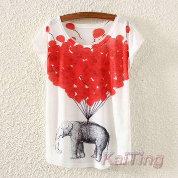 Fashion Vintage Spring Summer T Shirt