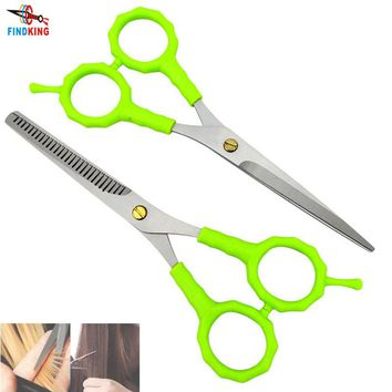 FINDKING brand high quality 2 X Professional Hair Scissors Set Barber Hair Cutting & Thinning Shears also child scissor