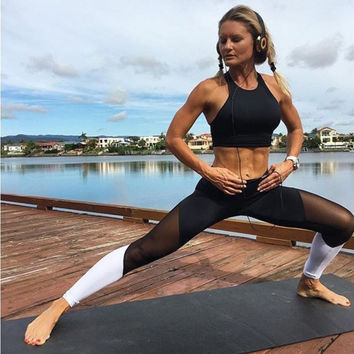 Summer Design Workout Push-up Sporting Leggings