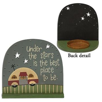 Under the Stars Tealight Holder