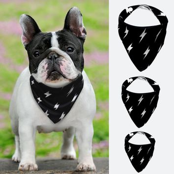 Pet Dog Bandana Collar Small Large Dog Bandana Scarf Tie Neckerchief Collar for Dogs Cats Bow Ties Dogs Grooming Accessories