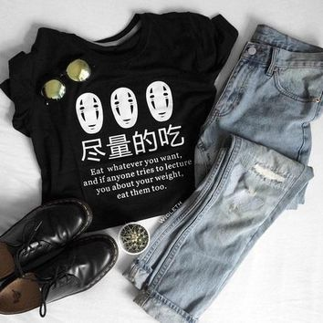 Harajuku No Face T-shirt