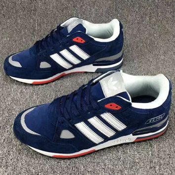 Adidas ZX 750 Fashion Casual Running Sneakers Running Sports Shoes Sapphire G-CSXY