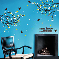 Birds In the Woods Wall Decal