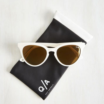 The Love Cats Sunglasses by Quay from ModCloth