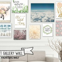 Bohemian Dreams (printable gallery wall)