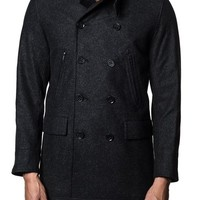 Jared Lang Double-Breasted Coat | Nordstrom