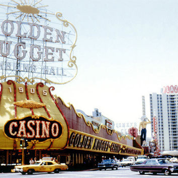 Las Vegas Golden Nugget Casino Fine Art Print