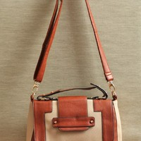 at the derby colorblock satchel at ShopRuche.com