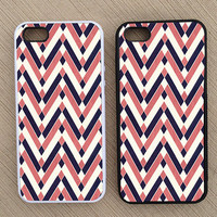 Cute Abstract Chevron iPhone Case, iPhone 5 Case, iPhone 4S Case, iPhone 4 Case - SKU: 162