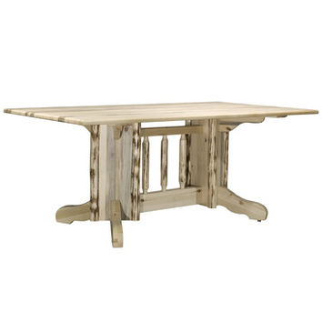 Montana Woodworks Montana Double Pedestal Dining Table