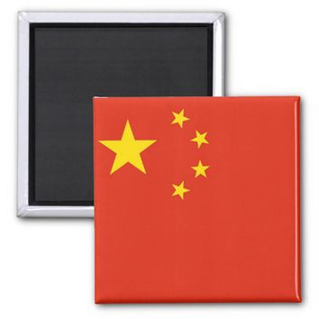 Magnet with Flag of China