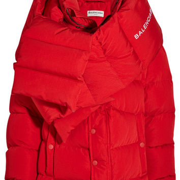 Balenciaga - Oversized quilted shell jacket
