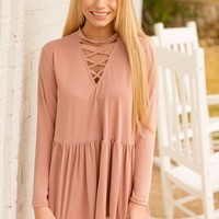 TIMBERLINE TOP - BLUSH