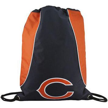 NFL Chicago Bears Axis Backpack Cinch String Bag Tote Drawstring Pouch Sling