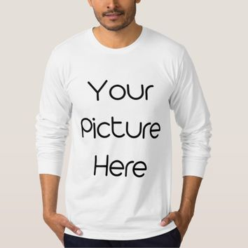 Create Your Own Custom Men's Long Sleeve T-Shirt