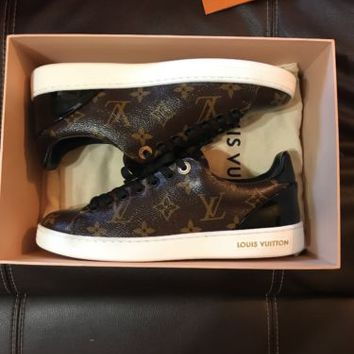 Louis Vuitton Front Row Sneakers - Brown -US size 5.5