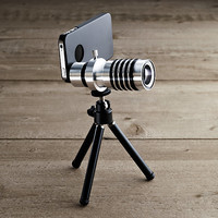 Zoom Lens & Tripod For iPhone® 4/4S/5