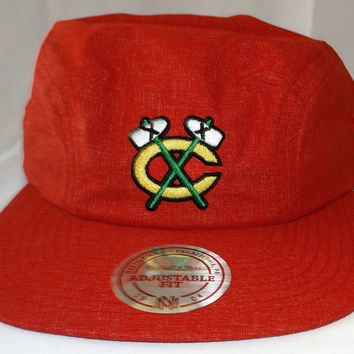 Chicago Blackhawks Mitchell & Ness Fall 2016 Snapback Cap