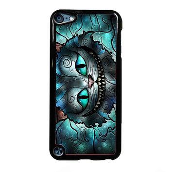 Cheshire Cat Alice Glass FOR IPOD TOUCH 5 CASE *NP*