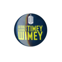 Doctor Who Wibbly Wobbly Timey Wimey Pin
