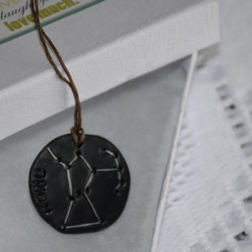 Orion star constellations pendant