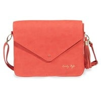 LOVELY STYLE coral shoulder bag | Maisons du Monde