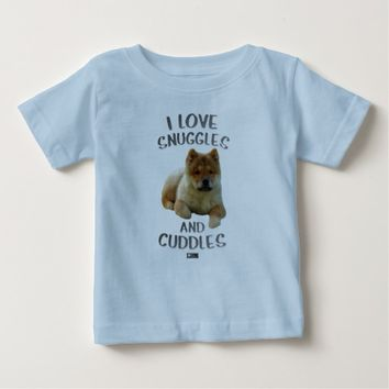 Snuggles Baby Design by Kat Worth Baby T-Shirt
