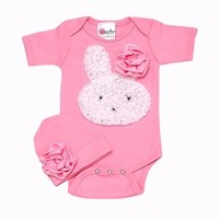 Little Bunny Too Cute Romper Set-Newborn Baby Girl Clothes- Unique Baby Gifts only $42.00 - Spring Preview 2014