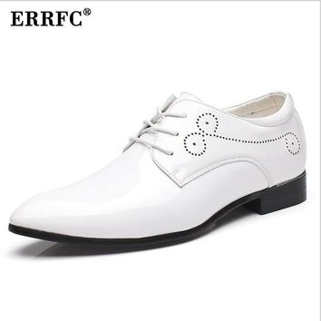 ERRFC Mens Leather Designer Fashion Dress Shoes