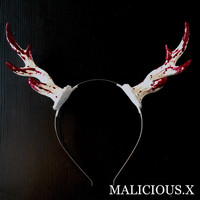 blood deer horn | MALICIOUS.X on the BASE
