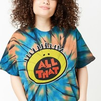 Plus Size All That Tie-Dye Tee
