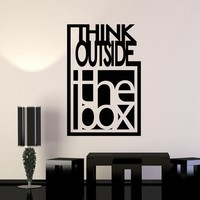 Vinyl Wall Decal Inspire Quote Motivation Office Team Art Decor Stickers Mural (ig5069)