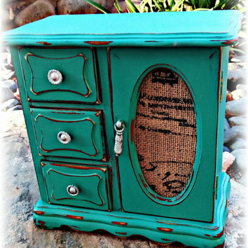 Best Teal Jewelry Box Products on Wanelo