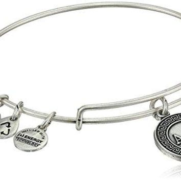 Alex and Ani Sorority Alpha Delta Pi Expandable Rafaelian Wire Bangle Bracelet