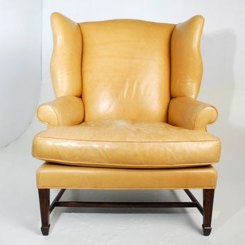 Best Best Vintage Wingback Chair Products on Wanelo YT57