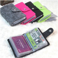 Card Organizer, card holder, Vintage Womens Pouch ID Credit Card Wallet Cash Holder Organizer Case Box Pocket = 1705934596