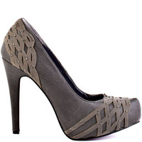Just Fabulous's Grey Mimi - Grey for 59.99 direct from heels.com