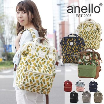 Anello Casual College Back To School Comfort  Big Size Backpack [10802555075]